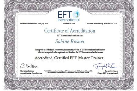 Master Trainer EFTi